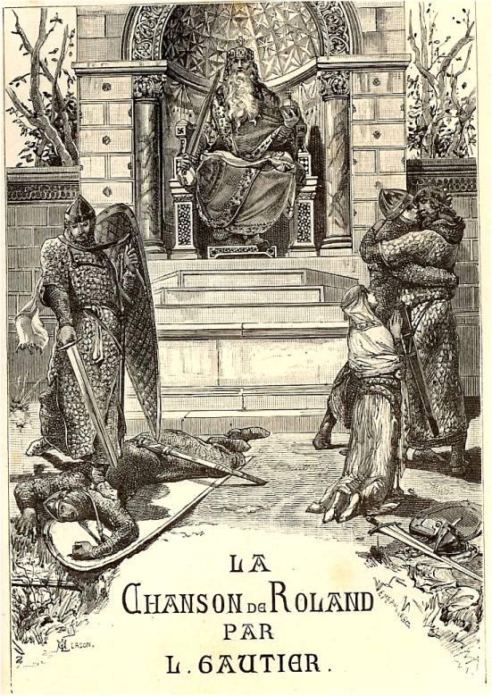 Luc-Olivier Merson : illustration pour la Chanson de Roland
