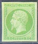 France : 5c vert type Napoléon III