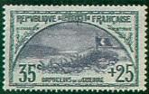 France : 35c+25c gris et violet 1ère série Orphelins